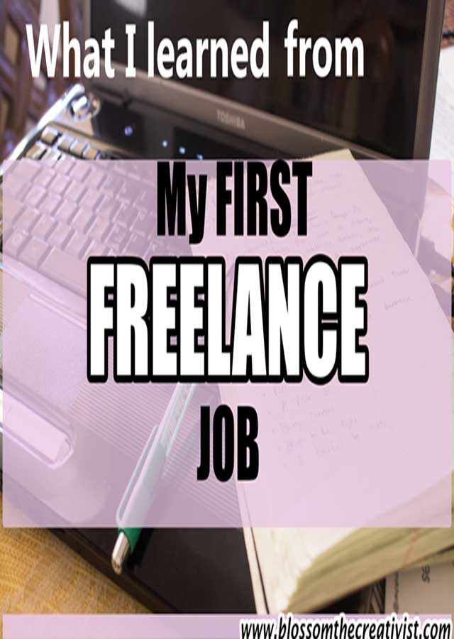What I Learned From My First Freelance Job