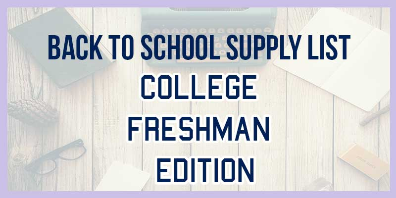 Do you not know what to pack for college? Here is exactly what you need for your college dorm, your college schoolwork, and your college life. Here is what you do and don't need for college.
