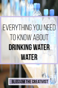 everything you need to know about drinking water: how much water should I be drinking? Will drinking too much water give me water weight? How do I get rid of water weight? What is the best type of water? Find out here!