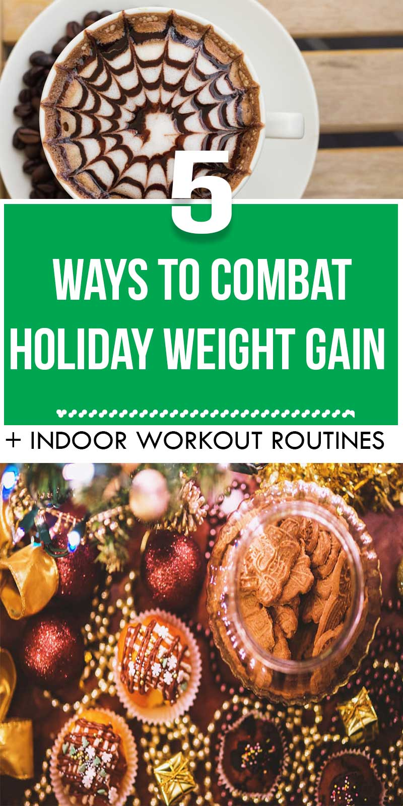 Looking for ways to prevent and combat holiday weight gain? Look no further. We all know how difficult it is to maintain weight when you're faced with cakes and alcohol and feasts and parties. And it's totally fine if you indulge every once in a while. But here's how to get on track with your weight maintenance goals for the new year.