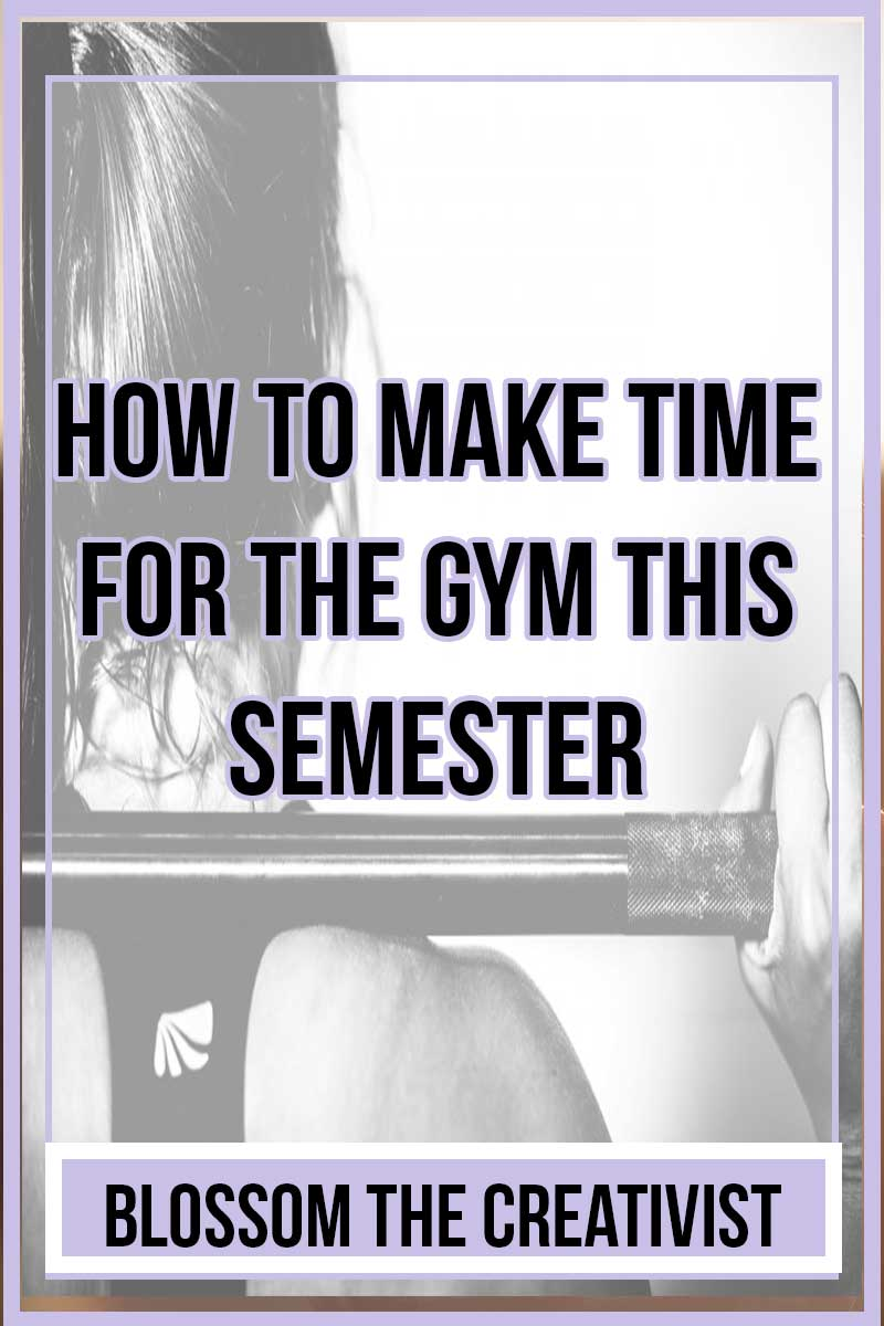 Are you a college student? Are you trying to get healthier this semester? Was one of your new year's resolutions to make time for the gym and work out more this semester? If you want to do something, you'll make time to do it! Here are 5 ways to make time for the gym this semester.