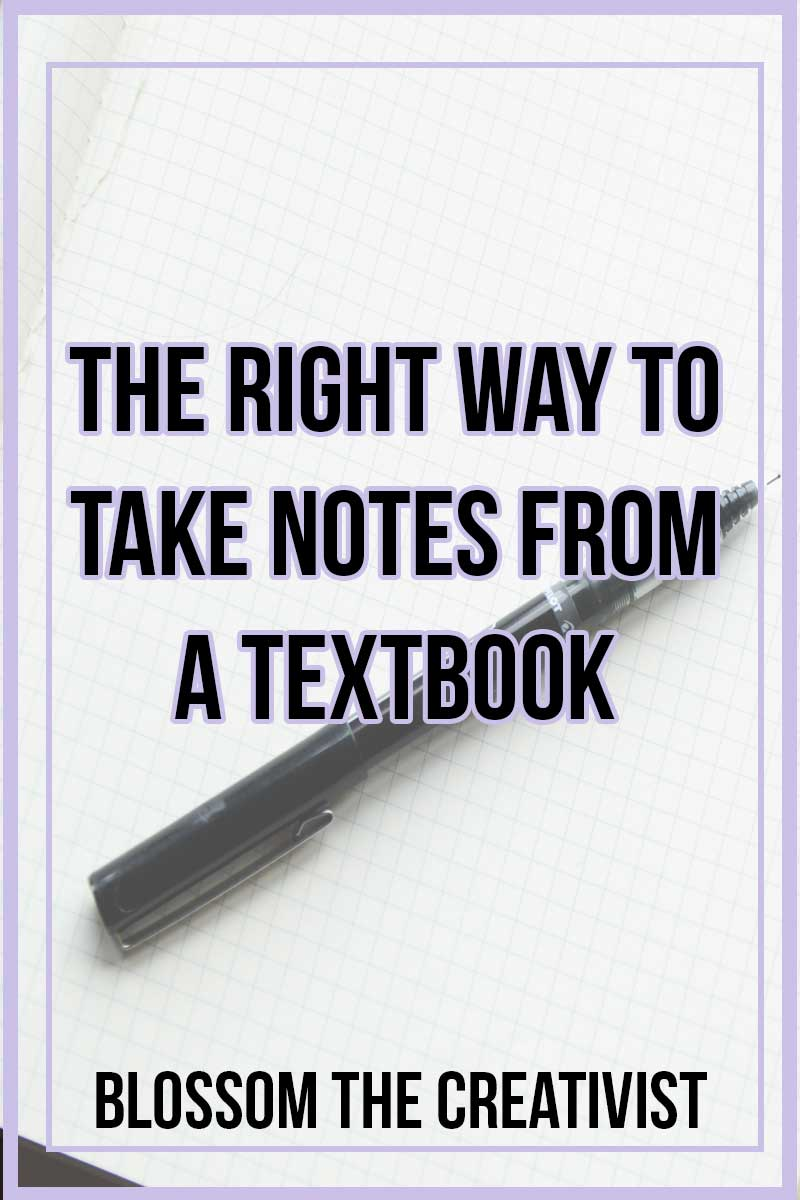 Textbooks got you feeling overwhelmed? Don't know how to take notes? Want to know the best and most effective strategies in taking notes? Students in every grade level including college often take notes in school and most times, they are doing it WRONG. Here's the right way to take notes from a textbook.